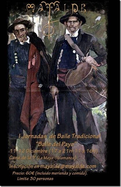 I Jornadas de Baile Tradicional. Baile del Payo