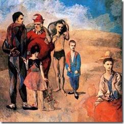 familia de saltimbanquis