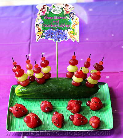 Ykaies Tinkerbell themed 3rd Birthday Party Blog ni ako