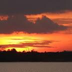 Sunset at Danga Bay, Johor Bahru, Malaysia
