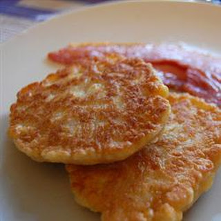 Corn Fritters with Maple Syrup