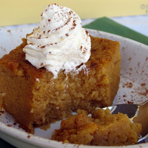 Crock Pot Pumpkin Pie Pudding