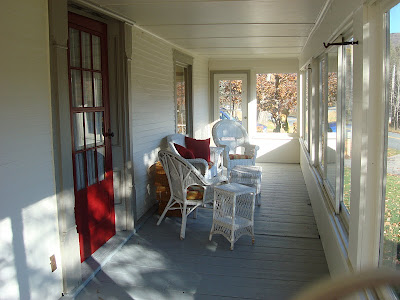 Okemo Ski House Front Porch