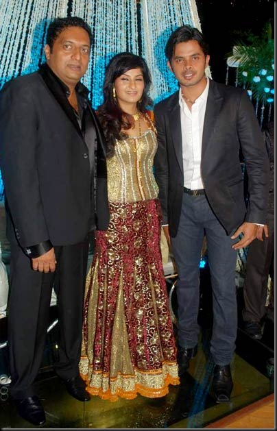 Prakash Raj & Pony Verma's wedding reception stills5