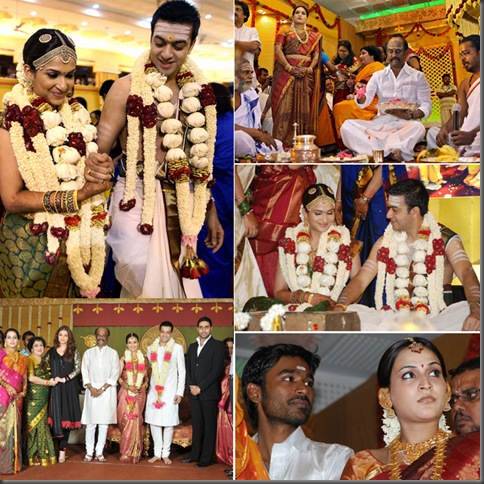 Rajnikanth's Daughter Wedding Photos