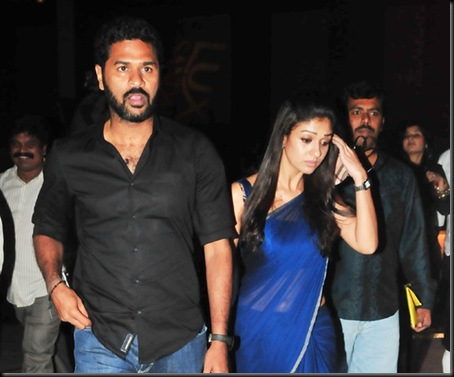 prabhu deva,nayanthara at southscopeawards