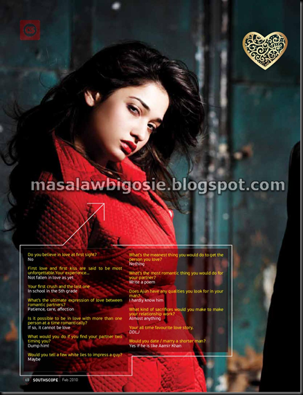 Tamanna,Allu Arjun for South Scope pictures