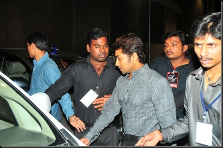 Suriya at Allu Arjun 39s wedding stills6 suriyawedding