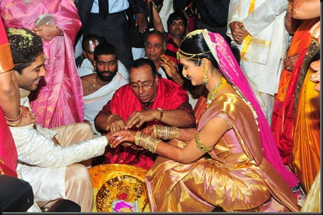 Allu Arjun Sneha Reddy wedding stills4