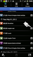 Screenshot of Trip Planner Lite