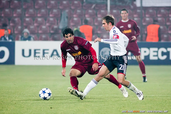 UEFA Champions League: CFR Cluj  &#8211; Bayern Munchen (0:4)