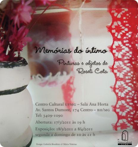 flyer virtual memórias do íntimo