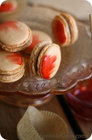 Sprinkle Bakes Cayenne Pepper Macarons