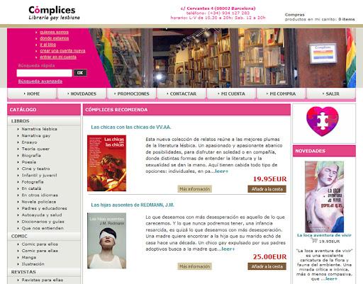 nueva web CÓMPLICES