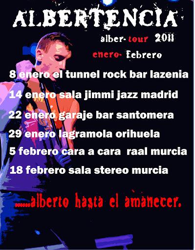 Albertencia Tour 2011