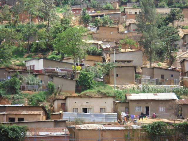 Wohnviertel in Kigali