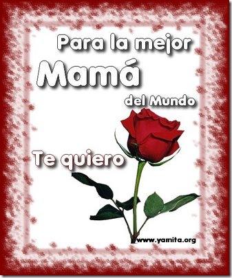 Tarjeta dia de las Madres II