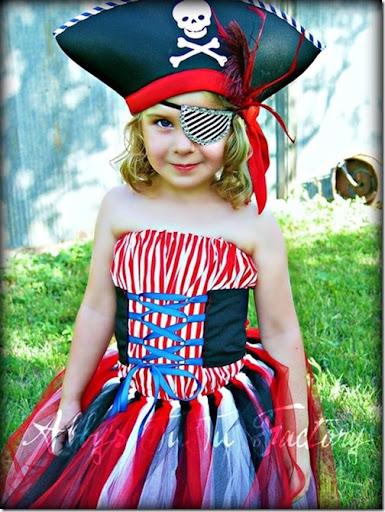 Trato o truco: disfraz de pirata