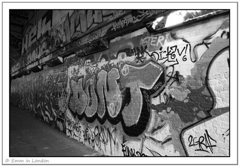London Graffiti Colourful