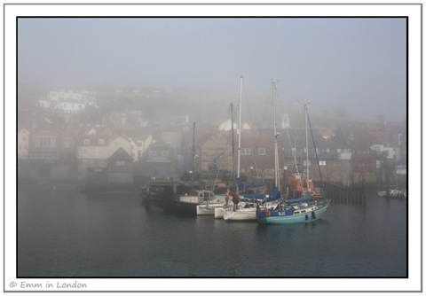 Sea Fret over Whitby Harbour