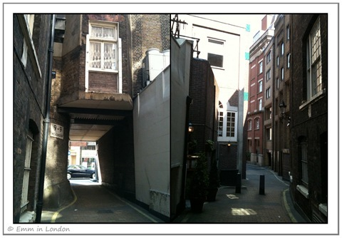 Alleys and Back Routes in Mayfair
