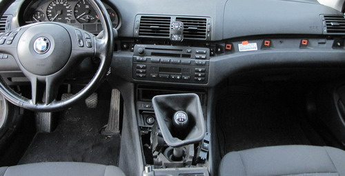 E46 no interior trim