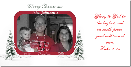 PKC Christmas card 2008