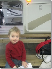 Jan 2009 boat & rv show with Collin 001