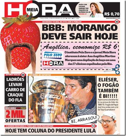 Morango-jornal