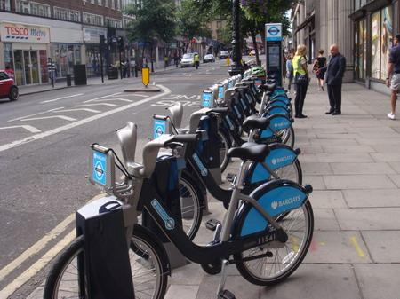 Bicicletas de aluguer em Londres