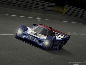 Nissan R92CP Race Car