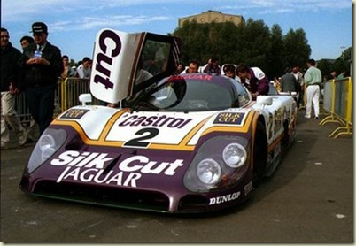 Jaguar XJR-9 1988.