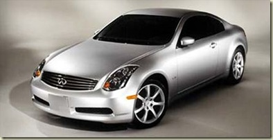 112_0204_First_Look_2003_Infiniti_G35_Coupe 2003_Infiniti_G35_Coupe Front_Drivers_Side_View