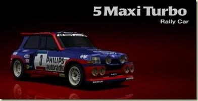 Renault 5 Maxy Turbo