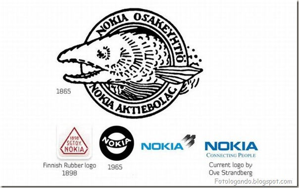Mudanças de Logotipos ao longo do tempo (2)