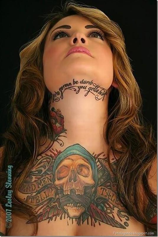 Compilação de meninas com tatuagens (4)