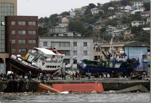 Fotos do Devastador terremoto no Chile (20)