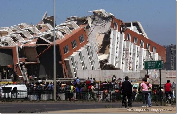 Fotos do Devastador terremoto no Chile (3)