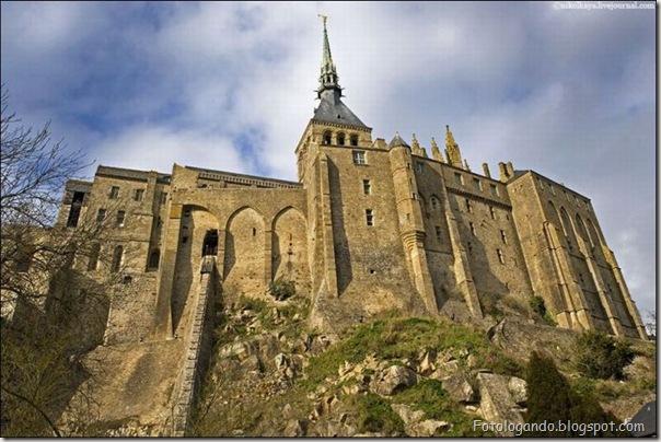 Mont Saint Michel, a cidade no meio do mar (5)