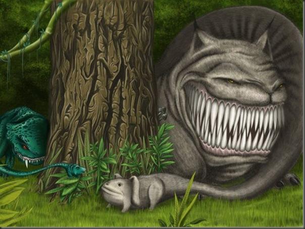 Criaturas divertidas em 3D (24)