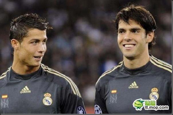 A bela amizade de Cristiano Ronaldo e Kaká (6)