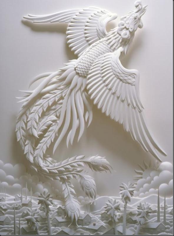 Lindas esculturas de papel (8)