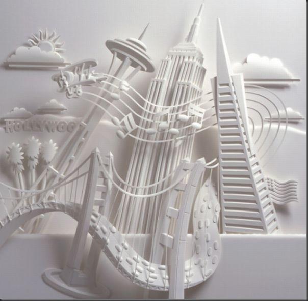 Lindas esculturas de papel (5)