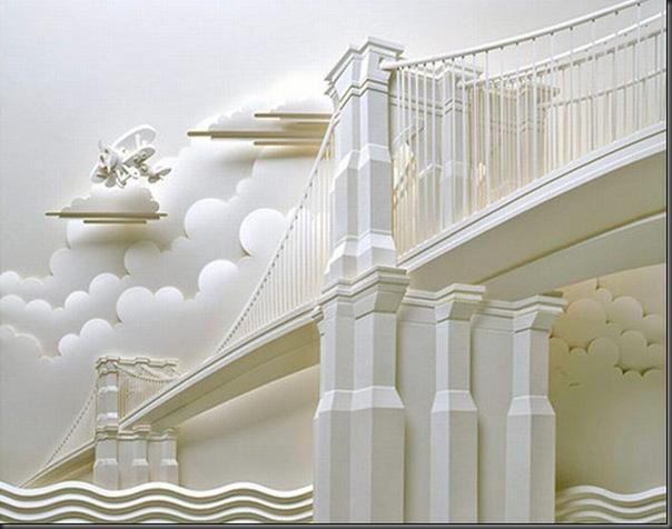 Lindas esculturas de papel (3)