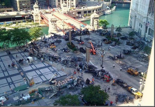 Fotos da filmagens de Transformers 3 (31)