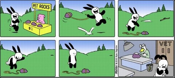 O coelho mais azarado do Mundo