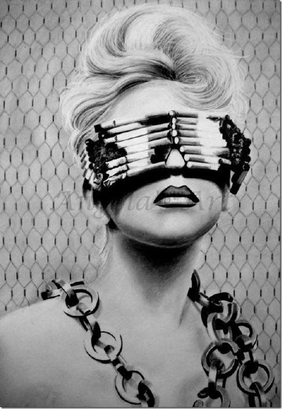 50 desenhos feitos por fãs de Lady Gaga (21)