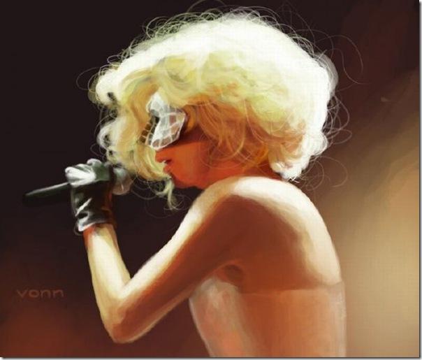 50 desenhos feitos por fãs de Lady Gaga (17)