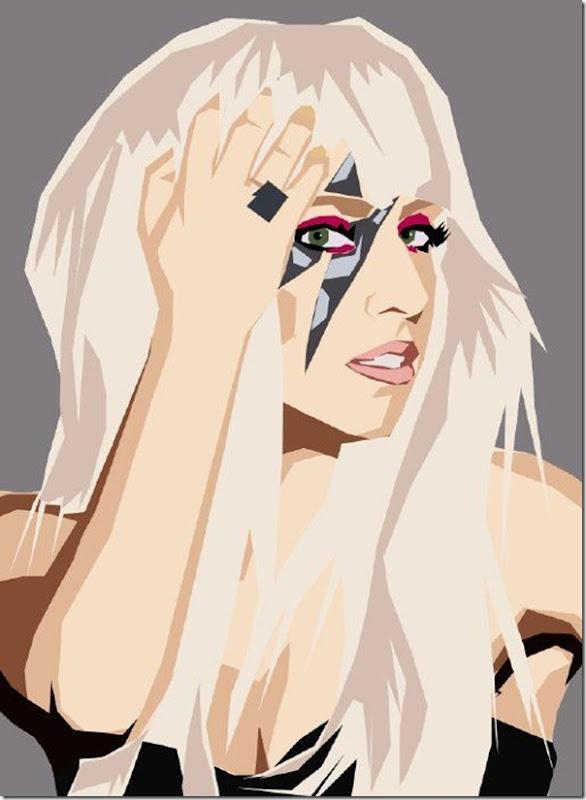 50 desenhos feitos por fãs de Lady Gaga (16)