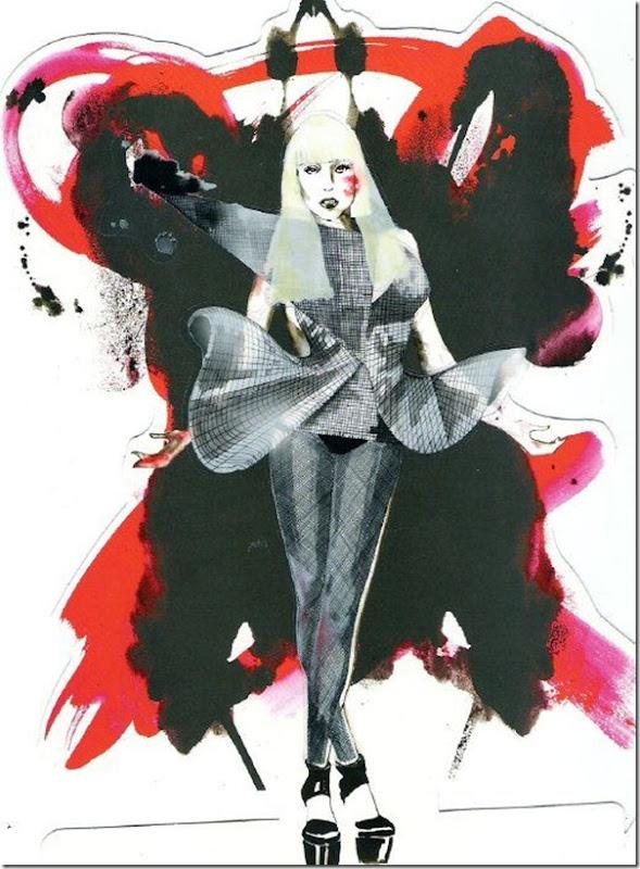 50 desenhos feitos por fãs de Lady Gaga (14)